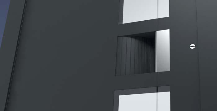 Hliníkové domové dvere