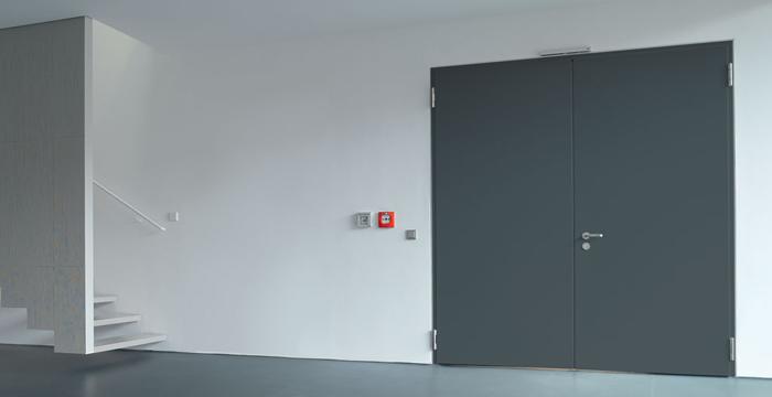 Viacúčelové dvere z ocele