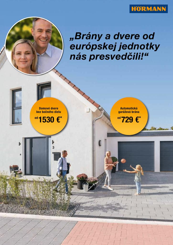 Brány a dvere od európskej jednotky za výhodnú cenu